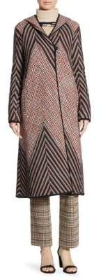 Missoni Hooded Patchwork Coat