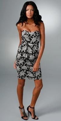 YAYA AFLALO Beatrice Strapless Dress