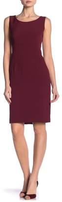 Kasper Sleeveless Crepe Dress