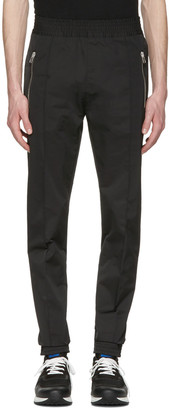 Givenchy Black Casual Trousers $835 thestylecure.com