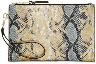 INC International Concepts I.n.c. Glam Snake Party Wristlet Clutch