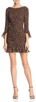 Fame & Partners Zahir Leopard-Print Dress