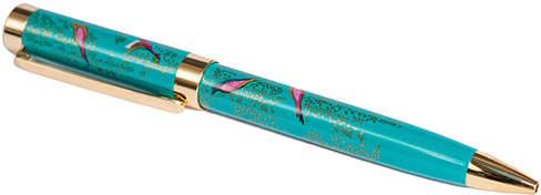 Teal Birds Pen