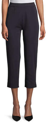 Misook Slim-Leg Knit Ankle Pants, Plus Size