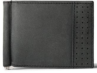 Leather Architect Men's 100% Leather Bifold RFID Blocking Wallet with Money Clip