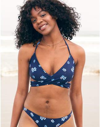 aerie Halter Wrap Bikini Top