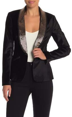 Ted Baker Embellished Velvet Suit Jacket