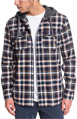 Quiksilver Men Snap Up Long Sleeve Shirt
