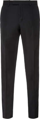 Burberry Slim-Fit Piped Wool-Blend Pants