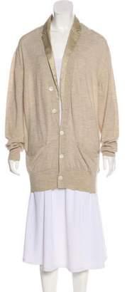 Sacai Lightweight Wool Cardigan