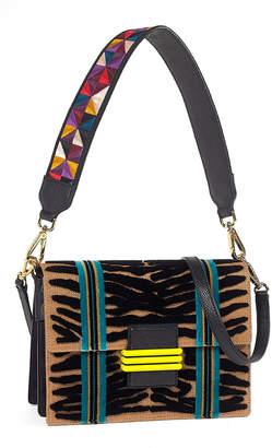 Etro Patterned Embroidered Shoulder Bag