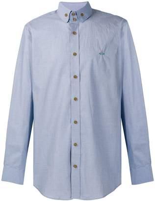 Vivienne Westwood button collar shirt