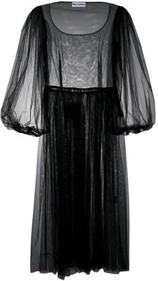 Molly Goddard tulle midi dress