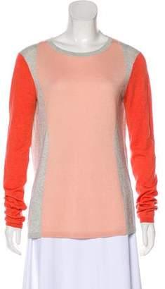 Diane von Furstenberg Alex Silk & Cashmere Sweater
