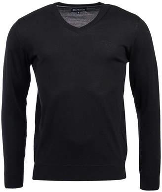 Barbour Men's Merino Wool V-Neck Sweater