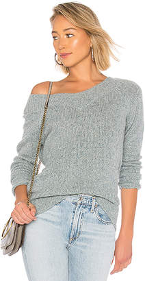 White + Warren Wide Open V Neck Sweater