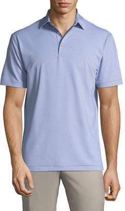 Peter Millar Men's Jubilee Stripe Stretch Jersey Polo Shirt