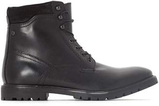 Base London York Leather Ankle Boots
