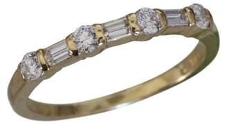 Tiffany & Co. 18K Yellow Gold Diamond Band Ring