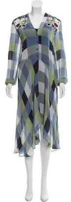Preen Line Printed Midi Dress