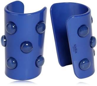 Krizia Plexi Studded Cuff Bracelets