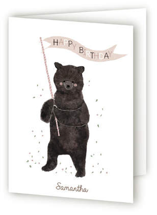 Beary Happy Birthday Kids Birthday Greeting Cards