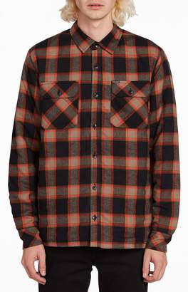 Volcom Belgrade Plaid Flannel Shirt