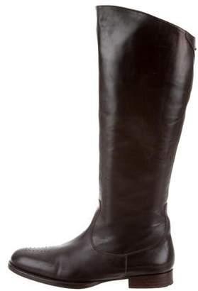 Stephane Kelian Leather Knee-High Boots