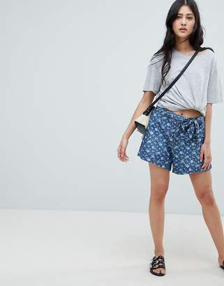 Deby Debo Fresh Print Denim Shorts