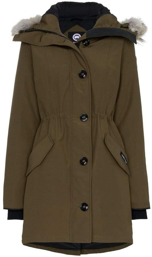 Arctic Rossclair fur trim parka jacket
