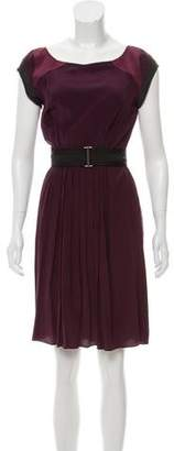 Vena Cava Silk Belted Dress