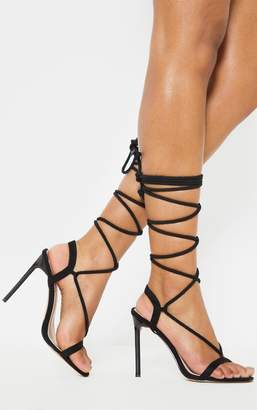 08743a8a1aa2 PrettyLittleThing Black Sandals For Women - ShopStyle UK