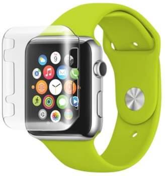 clear MYBAT MyBat Gel Bumper For Apple Watch iWatch 38mm
