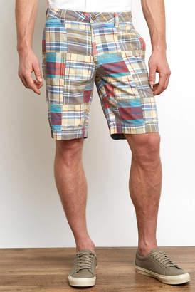 Tailor Vintage Patchwork Madras Short