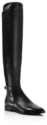 Tory Burch Women's Wyatt Leather Over-the-Knee Boots