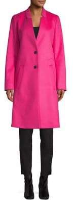 HUGO Long Wool Cashmere Coat
