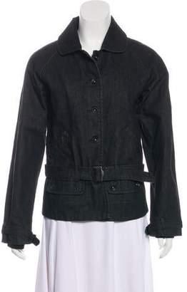 Factory Warhol x Levi's x Damien Hirst Belted Denim Jacket