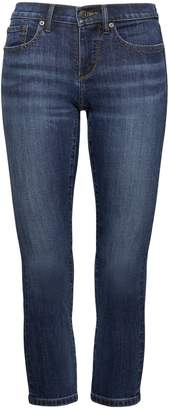 Banana Republic Girlfriend Dark Wash Cropped Jean