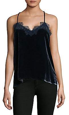 CAMI NYC Women's Velvet Racerback Top