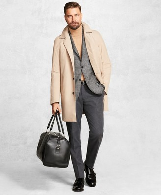Brooks Brothers Golden Fleece BrooksTech Raglan Trench Coat