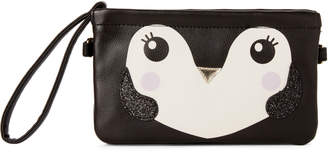 Betsey Johnson Luv Betsey By Black Carter Penguin Convertible Crossbody