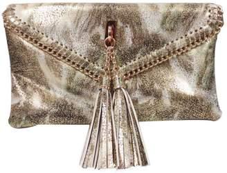 Sondra Roberts Gold Metallic Clutch