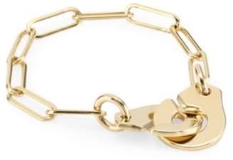 Dinh Van Menottes 18K Yellow Gold Chain Ring