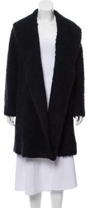 Vince Wool-Blend Knee-Length Coat