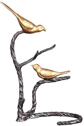 Birds on a Limb Metal Table Decor