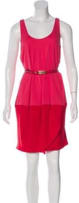 Under.ligne By Doo.ri Wrap Mini Dress