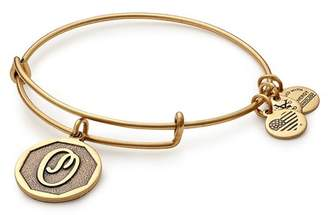 Alex and Ani Initial 'O' Charm Expandable Wire Bracelet