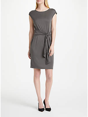 Oui Jersey Tie Dress, Licorice
