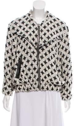 IRO Woven Pattern Casual Jacket