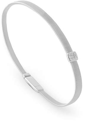 Marco Bicego Masai Single Diamond Bangle Bracelet